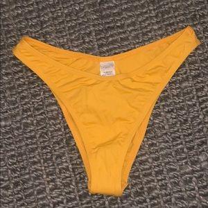 NWT medium l*space high cut cheeky bikini